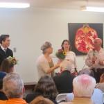 Flowers to Diana,  Anatoly,  Andrew,  & Olga